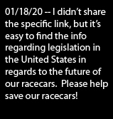 Save our Racecars!