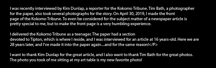 Verbiage for Kokomo Tribune April 2019
